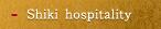 Shiki hospitality