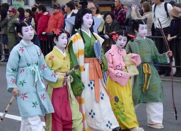 jidai-matsuri-parade-kids-group-1374
